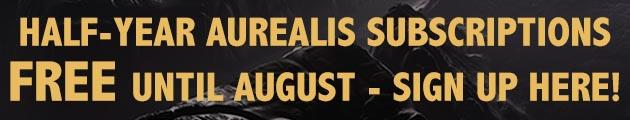 FREE Aurealis until the end of July